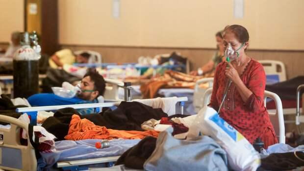 Индия обновила максимум по количеству летальных случаев от COVID-19 за сутки