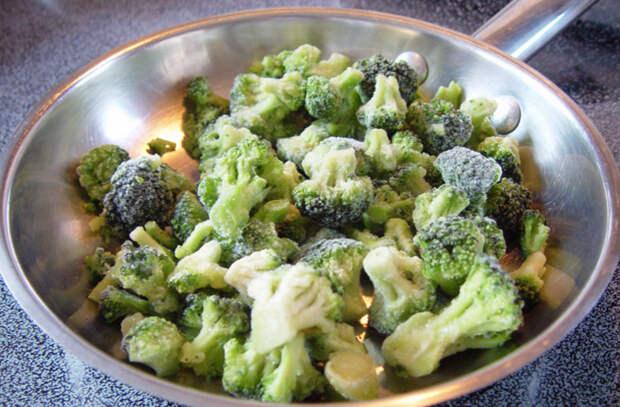 Как вкусно готовить замороженные овощи