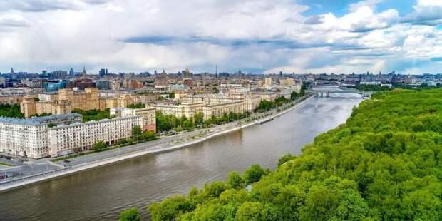 Собянин: Москва – самый зеленый мегаполис планеты. Фото: М. Денисов mos.ru