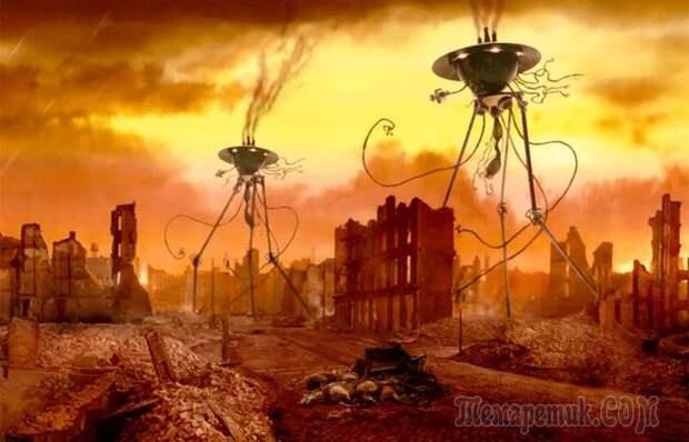Как в 1938 году Америка пережила вторжение марсиан в прямом эфире
