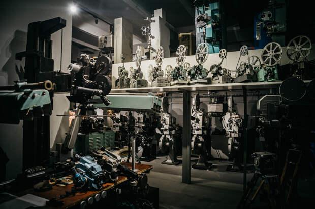 Киностудия Горького начала съемки документального фильма об истории кинотехники