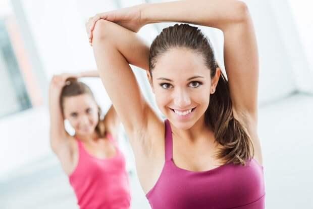 упражнения на руки для девушек