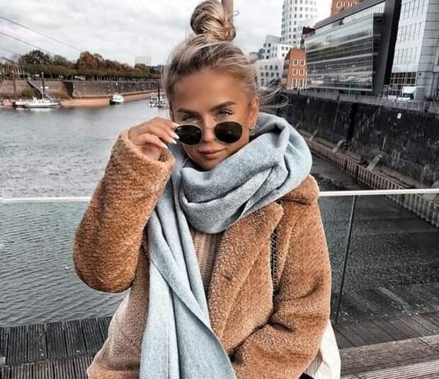 Актуальные модели шарфов этого сезона: С чем их сочетать, чтобы получались стильные образы