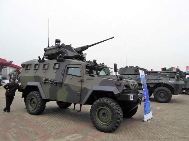 боевая машина komodo, indo defense 2018, необитаемый боевой модуль