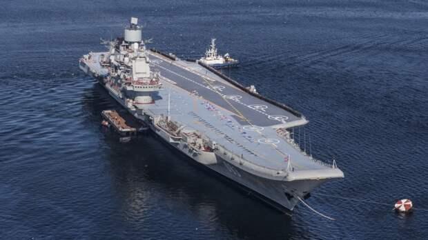 Авианосец будущего: Россия представила боевой корабль проекта «Ламантин»
