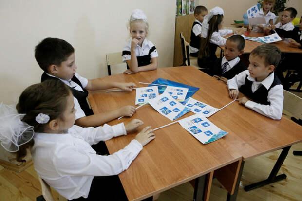 В Новокубанском районе Краснодарского края строят корпус  начальной школы на 400 мест