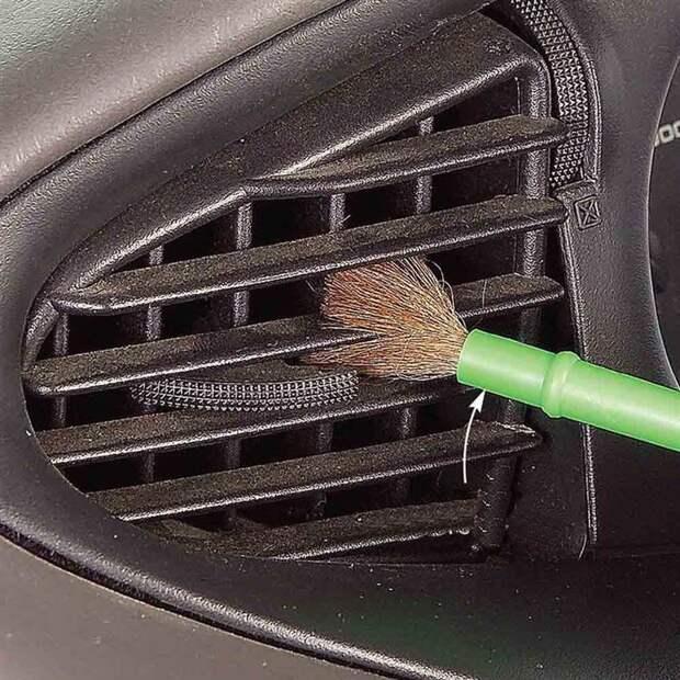 7. Пыль на вентиляционных отверстиях советы, чистка