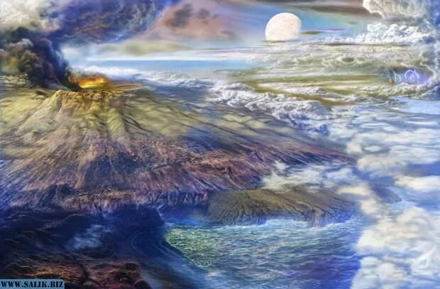 Человечество зарождалось не на планете Земля