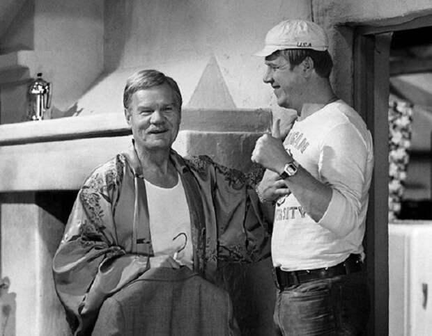 Фотографии со съёмок советских фильмов с любимыми актерами (60 фото)