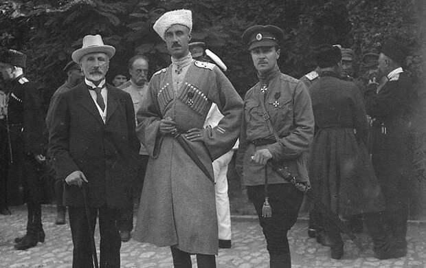 Александр Кривошеин, Петр Врангель иПавел Шатилов. Источник: pinterest.com
