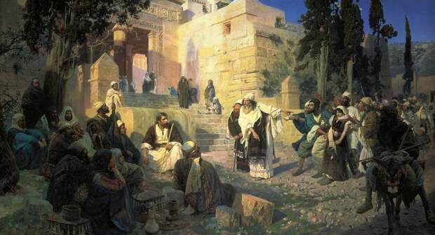 Одежда древних иудеев: всё по религиозным канонам
