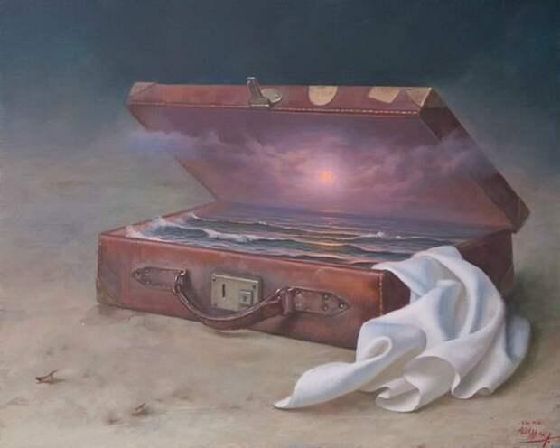 Хранитель моря. Автор: испанский художник Алекс Алемани (Alex Alemany).