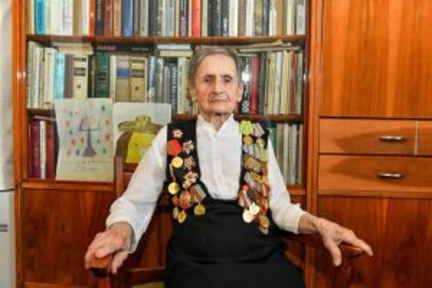 К 75-летию Победы: ветеран из Лефортова в 16 лет ушла в партизаны