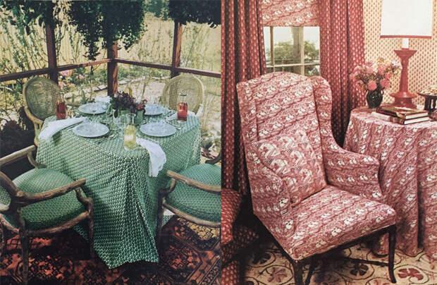 Интерьерный текстиль от Лоры Эшли.