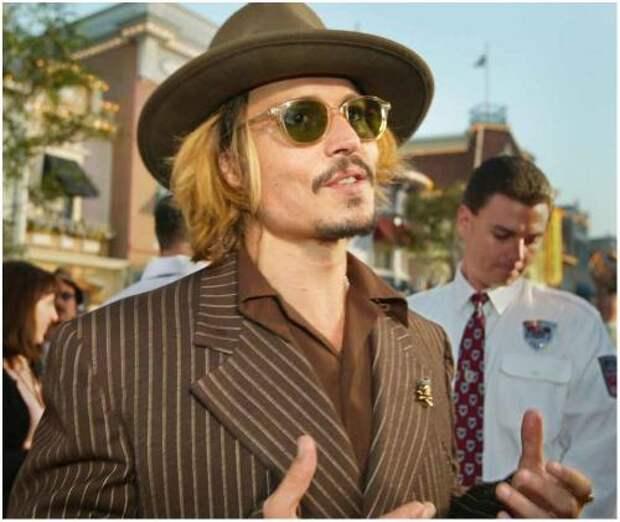 Пьяный Джонни Депп напал на помощника на съемках «Лабиринта»