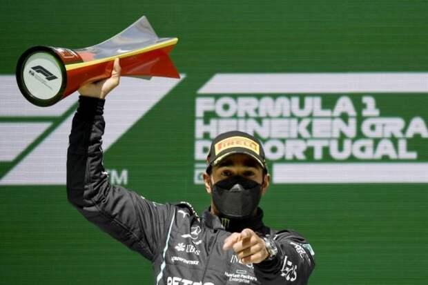 Гонщик «Мерседеса» Хэмилтон выиграл Гран-при Португалии