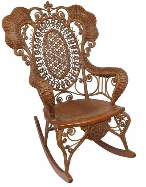 Восхитительные плетеные стулья и кресла