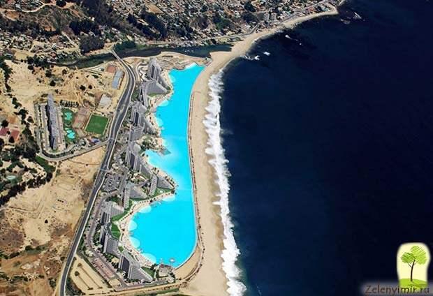 Самый большой бассейн в мире - Сан Альфонсо дель Мар, Чили - 3