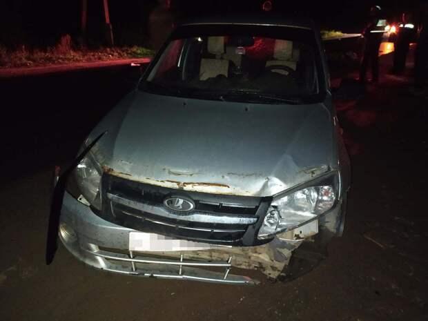 Мужчину-пешехода насмерть сбили на трассе в Удмуртии