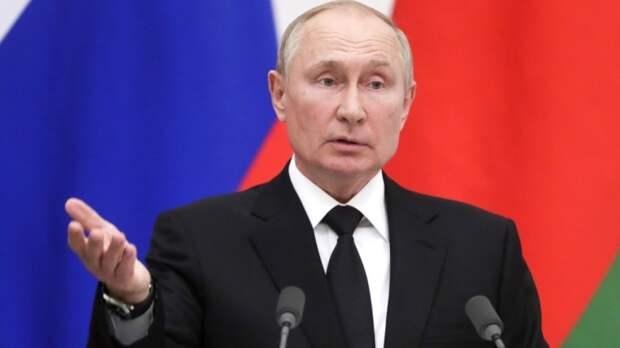 """""""Пожалуйте бриться"""": Путин отреагировал на рекордный рост цены на газ в Европе"""