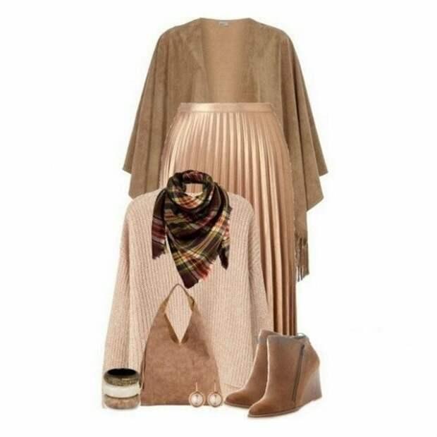 Как носить одну и ту же юбку и быть разной - 10 готовых образов на каждый день