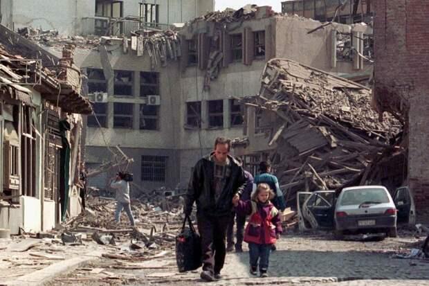 ВВС НАТО: кровавые преступления империализма