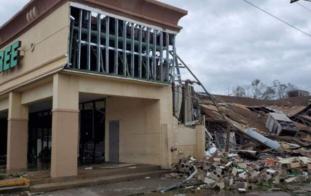 "В Луизиане ввели режим ЧП из-за шторма ""Салли"""