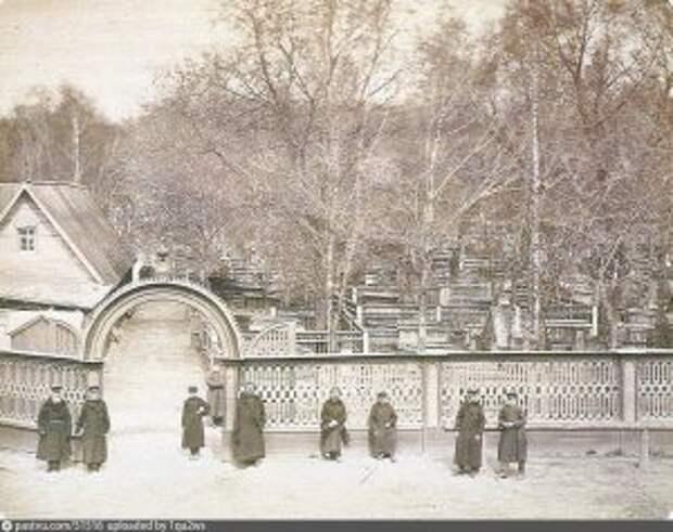 Рогожское старообрядческое кладбище. 1900 1910 / Фото: pastvu.com