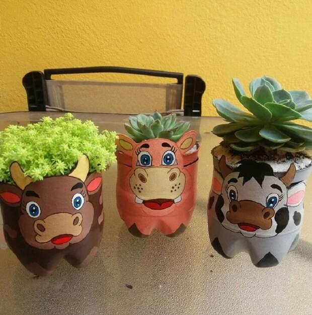 вазы в форме животных