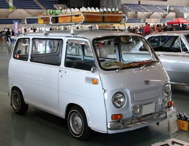Второе поколение, стартовавшее в 1966-м jdm, subari, subaru sambar, авто, автомобили, кей-кар, япония