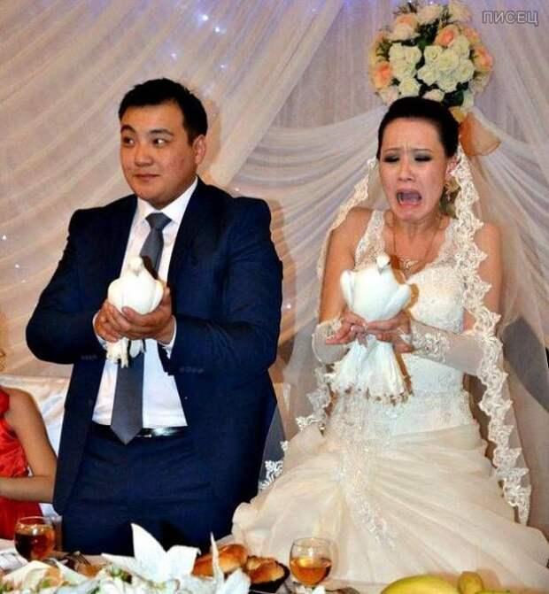 Свадебные приколы: смешно и горько!