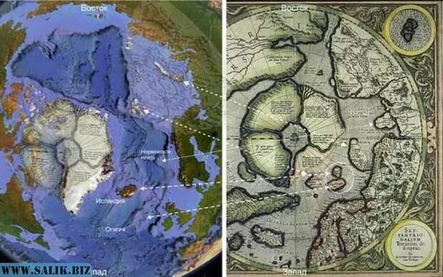 Останки предыдущей цивилизации нужно искать на дне Северного Ледовитого океана