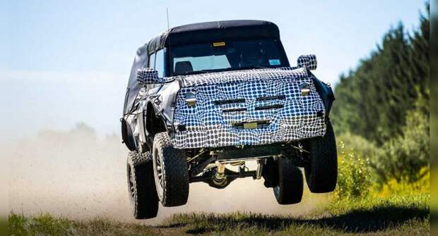 Появилось фото экстремальной версии внедорожника Ford Bronco