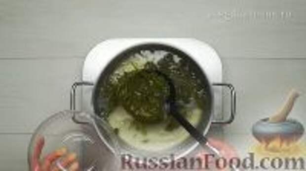Фото приготовления рецепта: Ботвинья - шаг №8