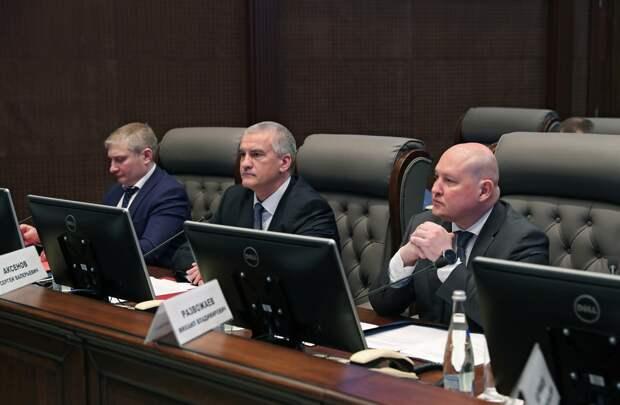 Аксёнов: Секретарь Совета безопасности России отметил большой объём проведенной работы на территории Крыма за последние 7 лет