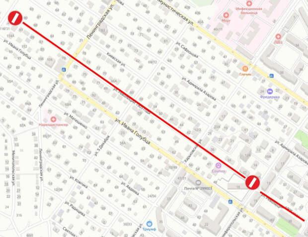 В Севастополе до декабря перекроют одну из улиц города