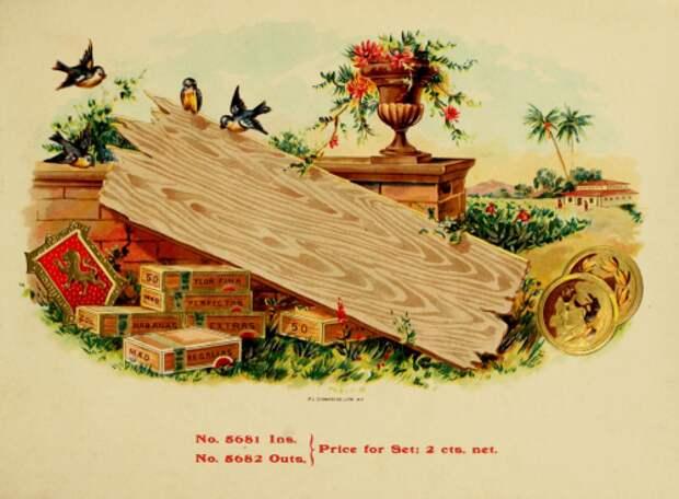 Старинные Папиросные этикетки (39 фото)