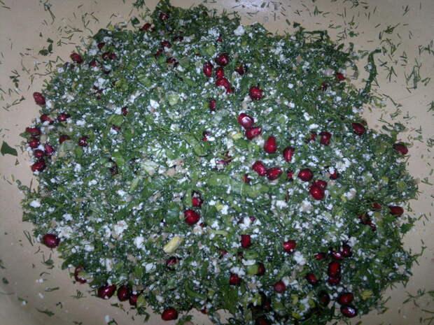 КЕТЭ — ароматные лепешки с зеленью