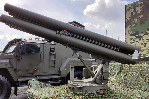 """Ракетный комплекс """"Гермес"""" уничтожит танки на расстоянии до 100 км"""