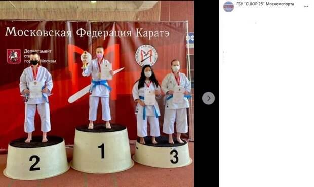Спортсменки с Вятской стали призерами первенства по каратэ