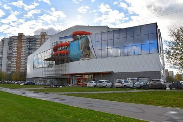 В ТЦ на пересечении Перервы и Люблиноской жва этажа отдадут центру госуслуг / Фото: Денис Афанасьев