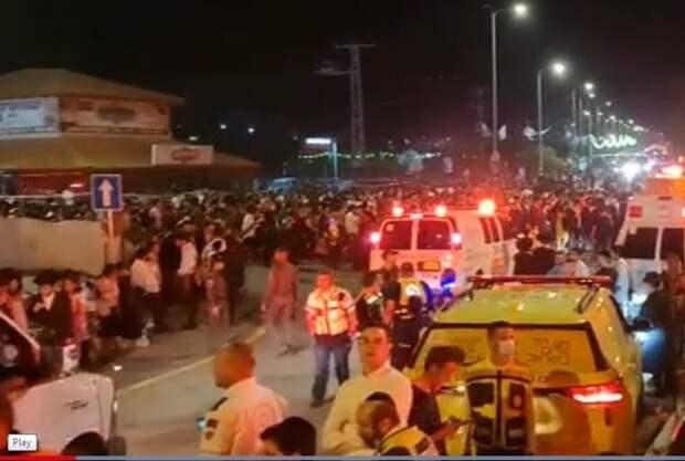 Более 40 человек погибли на религиозном празднике в Израиле