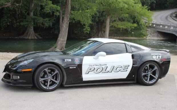 Техасские копы отжали у наркодилера 1000-сильный Corvette