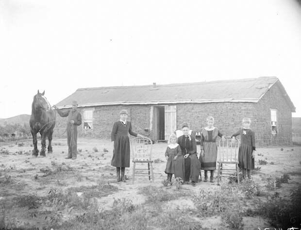 Как поднималась американская целина. Архивные фотографии пионеров Великих равнин конца 19-го века 14