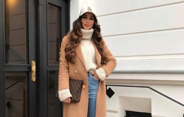 50 оттенков бежевого: стильные и красивые идеи с пальто цвета кэмел