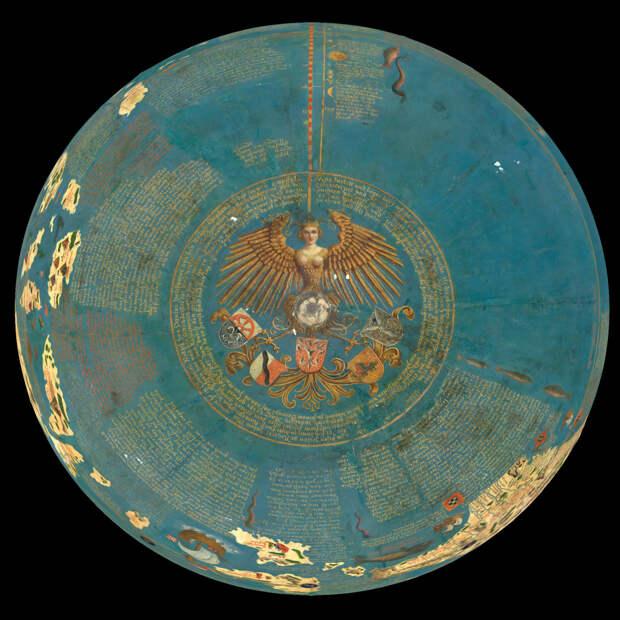 Земное яблоко Мартина Бехэйма, 1492.