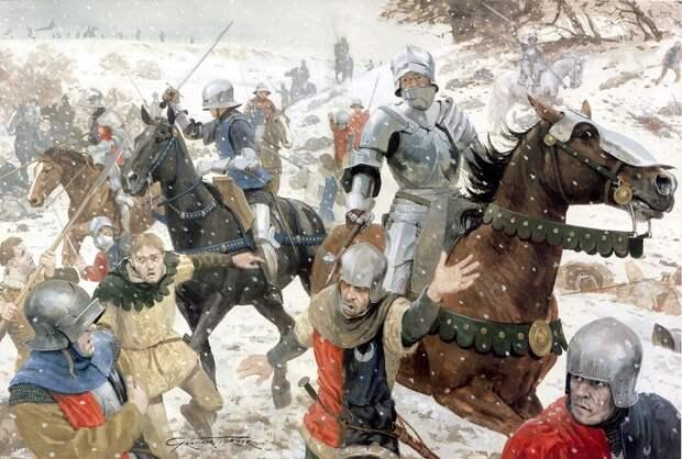 Летом 1996 года строители, работавшие в Северном Йоркшире, раскопали массовое захоронение английских солдат, павших в битве при Таутоне.