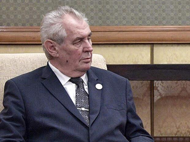 Президент Чехии рассказал о роли России во взрывах на складах во Врбетице