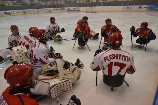 В Ижевске пройдет первый этап Чемпионата России по следж-хоккею