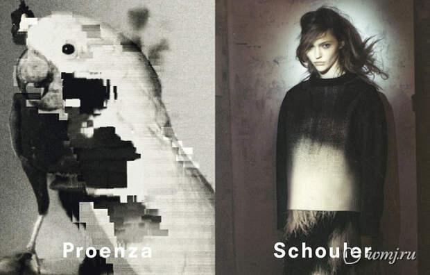 Рекламная кампания Proenza Schouler, осень-зима 2013/2014